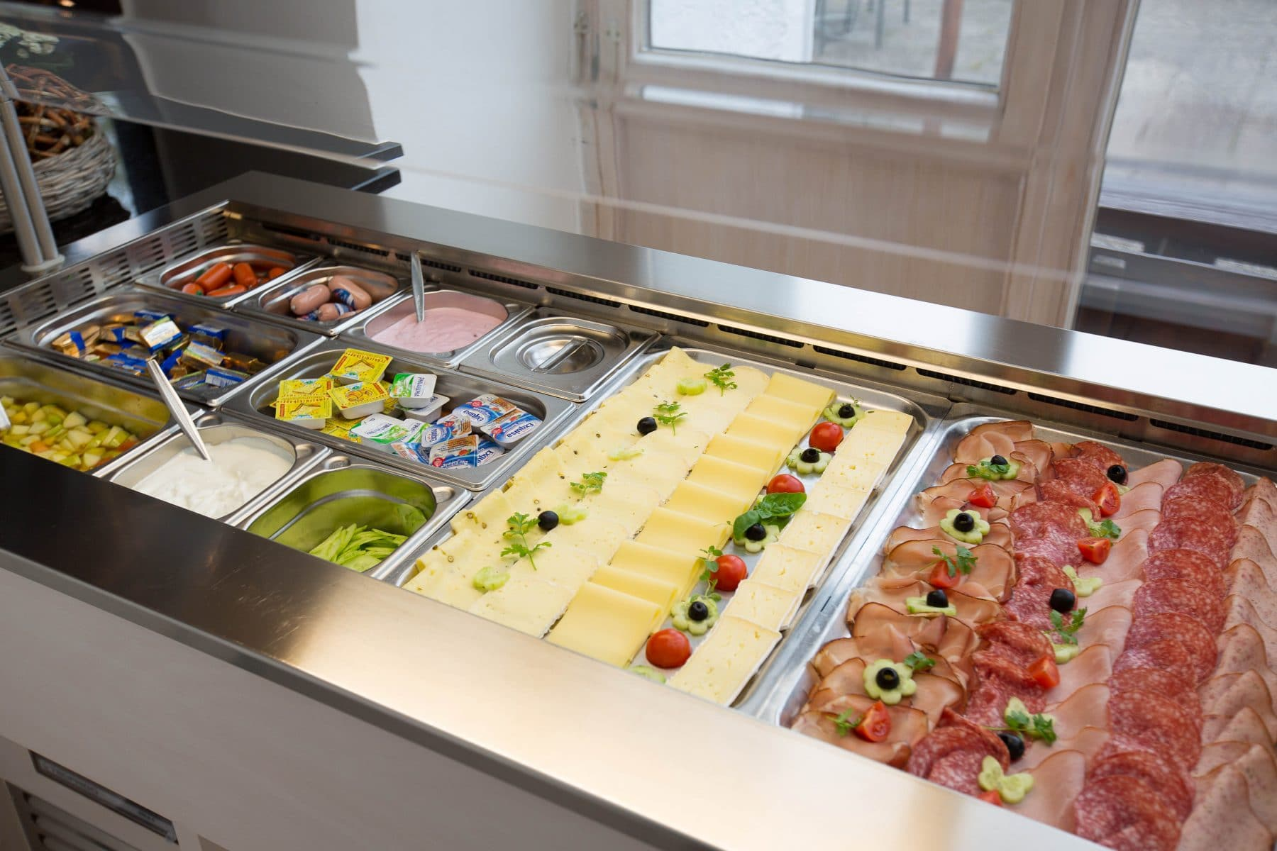 Frühstücksbuffet, Frisch, Regional