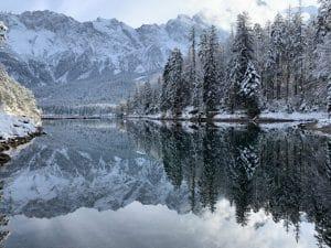 Eibsee, Garmisch, Winter, Wandern, Aktivitäten
