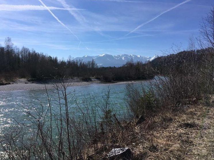 Radl fahren, Tölzer Land, Isar, Berge