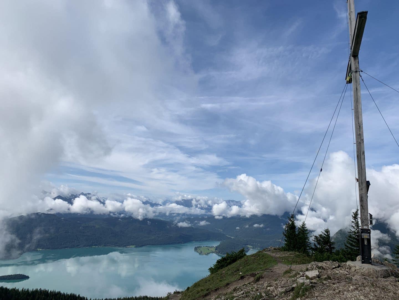 Wandern, Walchensee, Berge