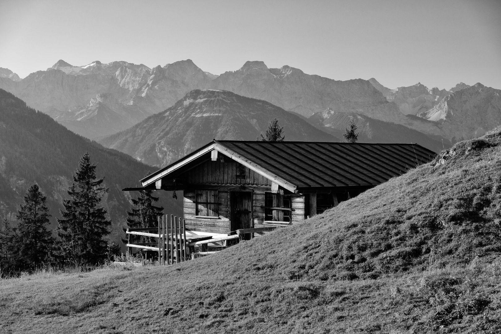 Wandern, Alm am Staffel, Jachenau, Hausberg