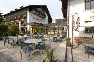 Hotel am Wald, Hausansicht, Terrasse